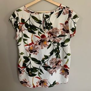 ONLY Floral print short-sleeve top